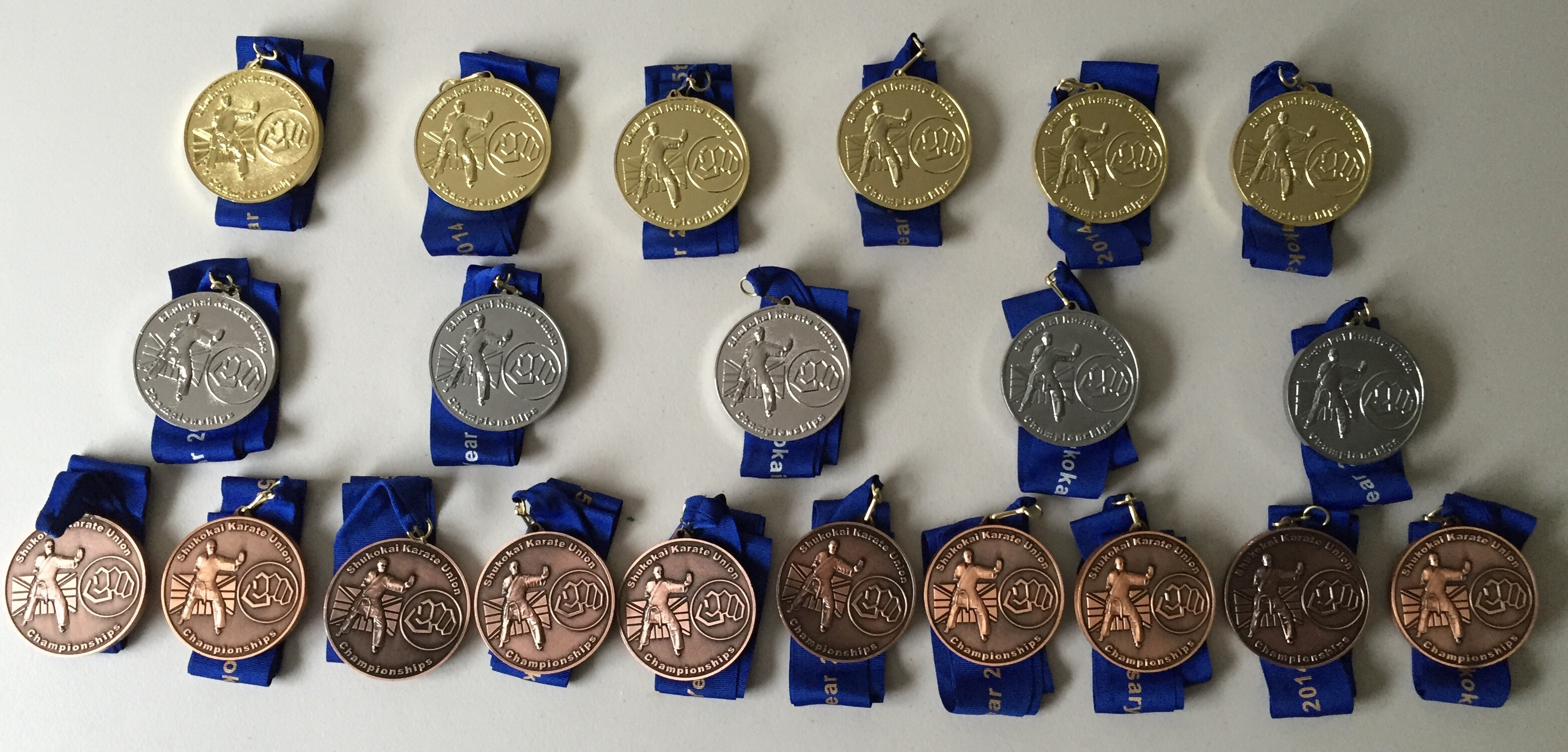 Medal Haul for TKC Students